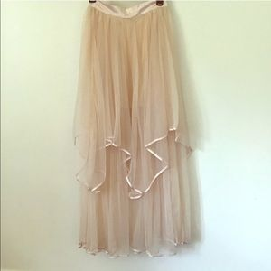 Free People Carrie Bradshaw Maxi Skirt
